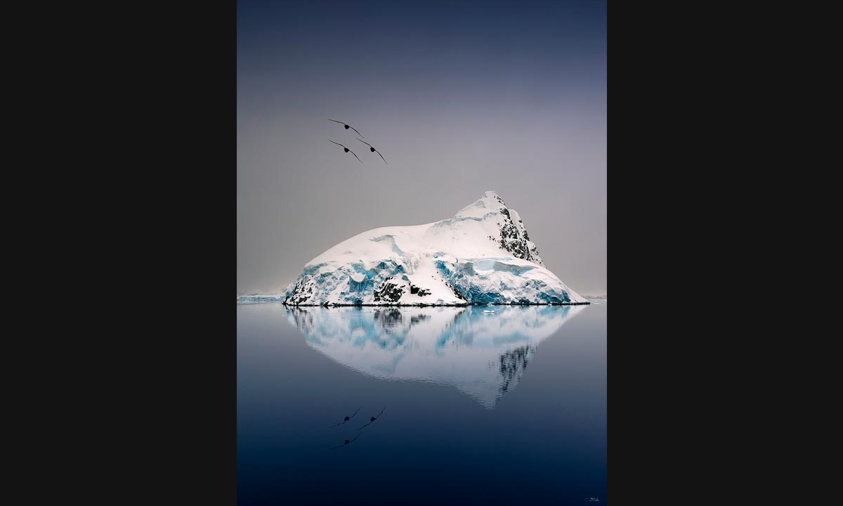 Reflection in Antartica
